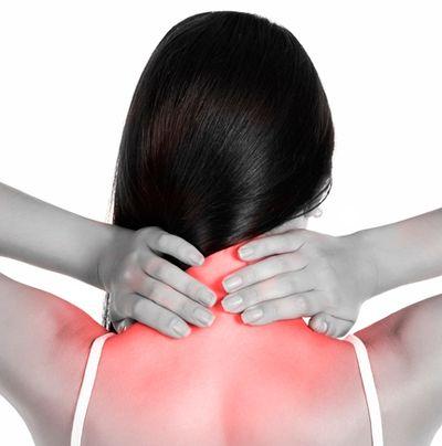 Снятие боли в шее