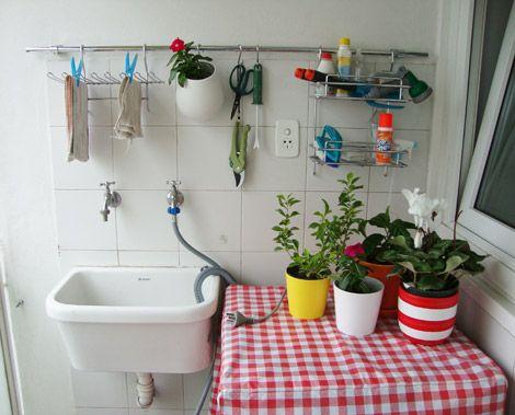 Mejores 41 im genes de lavadero en pinterest cuartos de for Lavadero pequenos