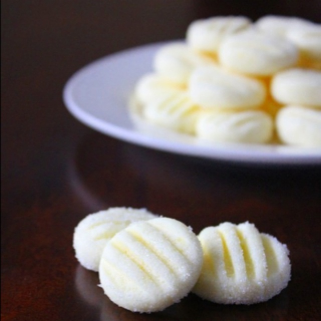 cream cheese butter mints