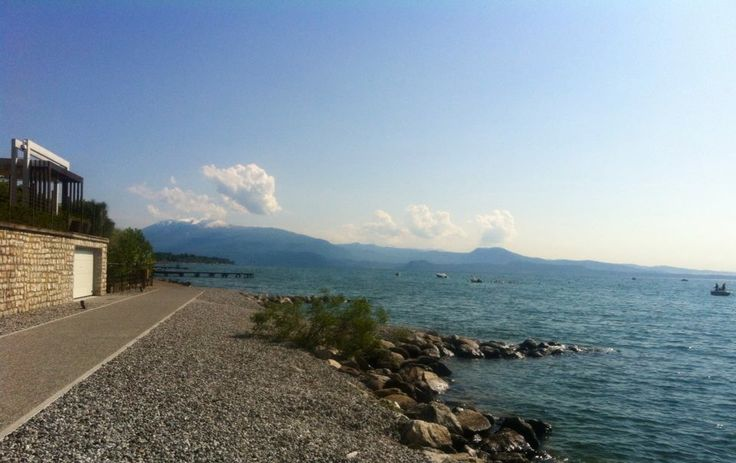 Gardazzurro Resort is lake front!!! And this is our view!!! @ Padenghe sul Garda nel BS