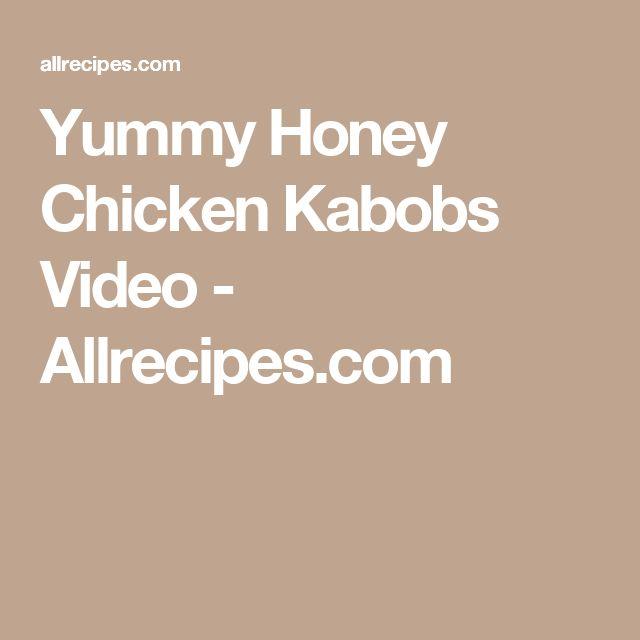 25+ best ideas about Honey chicken kabobs on Pinterest ...