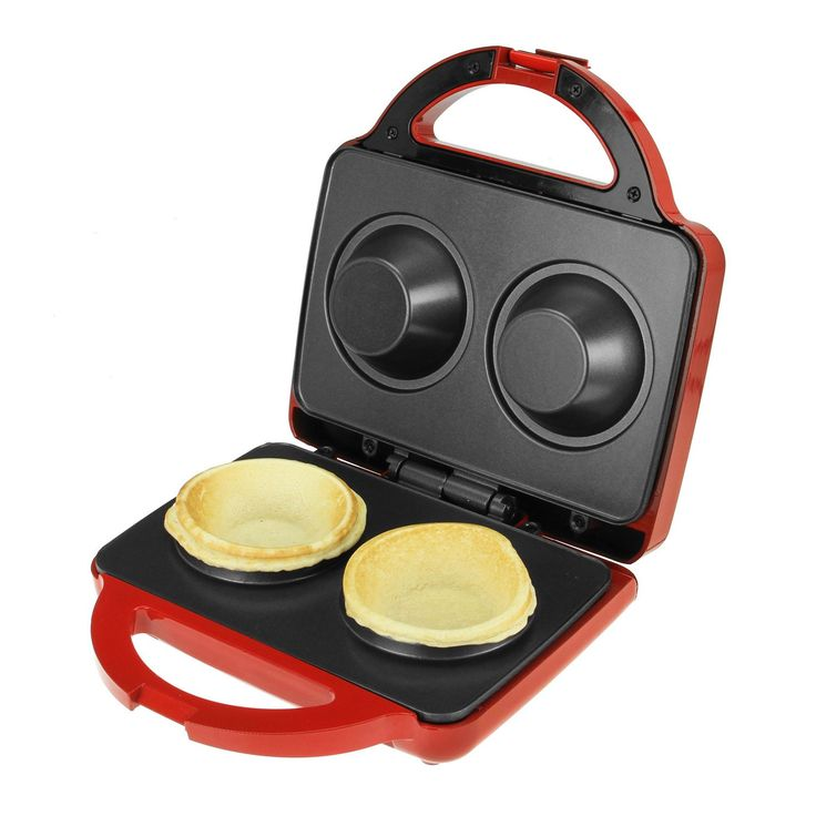 Kalorik Red Waffle Bowl Maker - Overstock™ Shopping - The Best Prices on Kalorik Waffle Makers