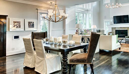 The Little Couple dining room