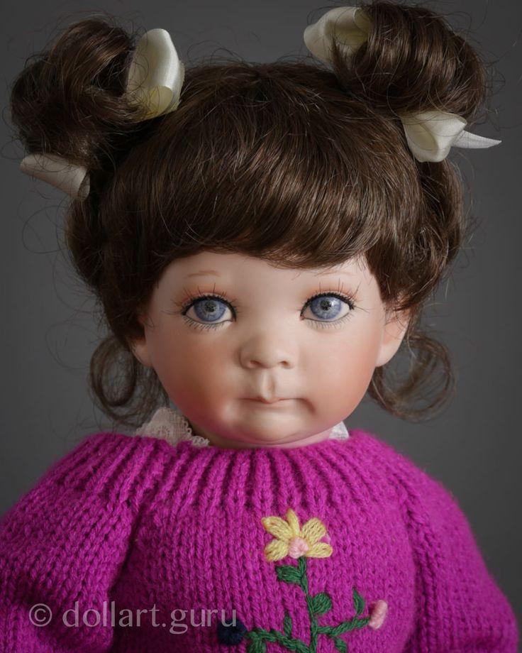 May. Фарфоровая кукла Линды Стил