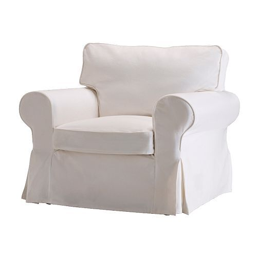 2 IKEA white slipcovered chairs to test the whole theory that white slipcovers can be washed/bleached and therefore are kid-friendly (how about black Lab friendly?).  We shall see.  Small investment if things don't work out. 2 x $249.00