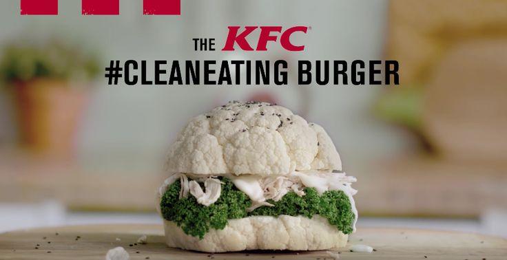 KFC invente le burger le plus healthy au monde
