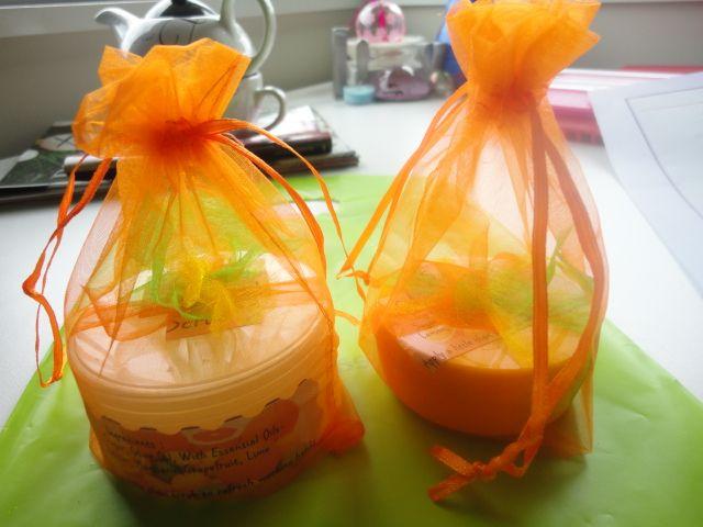 Aromatherapy citrus hand scrub