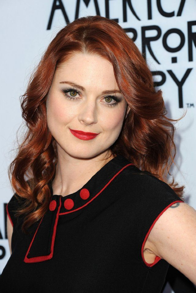 Alexandra Breckenridge at event of American Horror Story: Asylum. she was soooo good as moira.