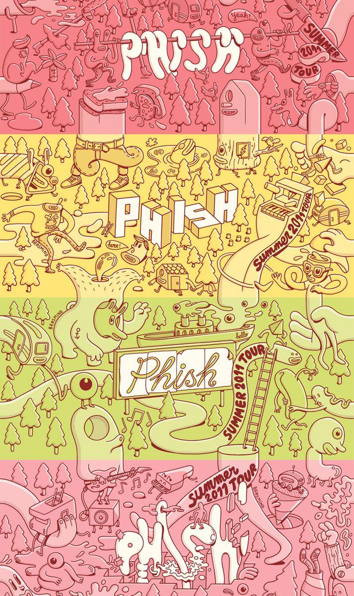 phish ticket design june 2011 | BM 11 PHISH TICKETING 1