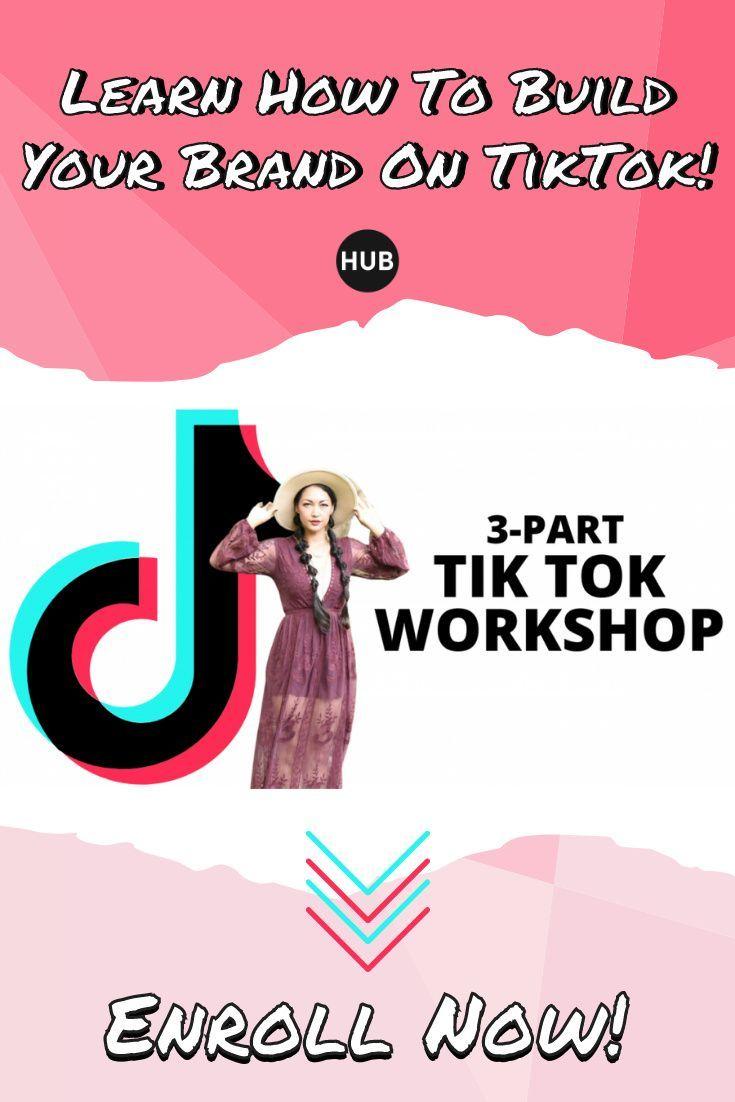 Tik Tok Workshop Online Coaching Business Social Media Strategies Content Marketing Tools