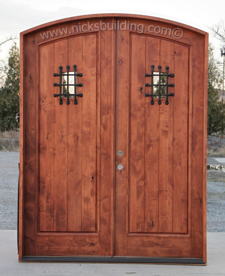 49 best images about alder doors on pinterest rustic for Wooden outside doors