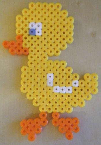 Duck hama beads by windowsticker http://mistertrufa.net/librecreacion/culturarte/?p=12