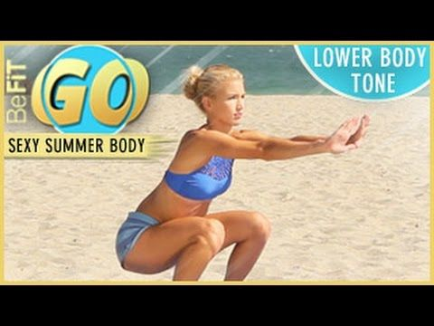 Summertime Lower-Body Tone Mobile Workout from BeFiT GO is an effective 10 minute total body-sculpting workout routine that uses a special combination of tar...