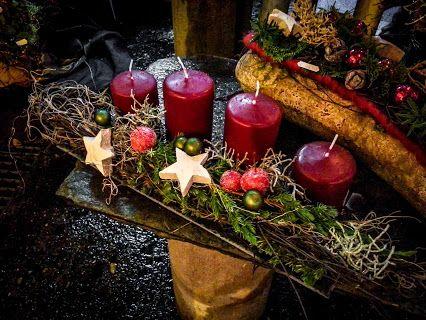 Advent als Fries  #Advent #Weihnachten #Kerzen #Sterne #Gesteck #Floristik #Adventsgesteck #Fries    EBK-Blumenmönche Blumenhaus – Google+