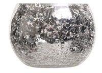 Värmeljushållare 7,5x8,5 cm Silver - Ljus & Ljusstakar - Rusta