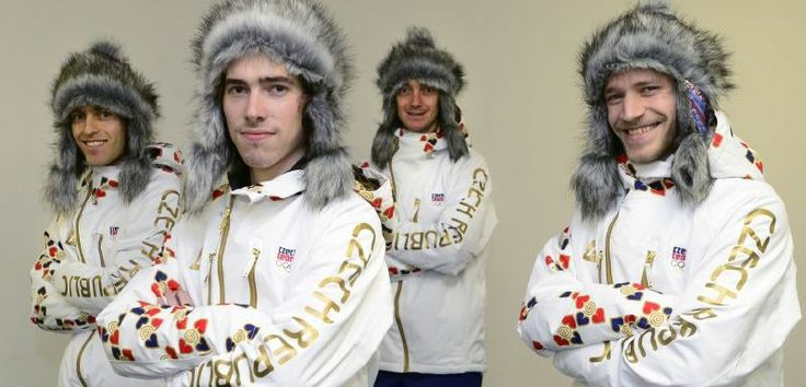 Czech Olympic Team Outfits for Sochi 2014, I like it, very cool......