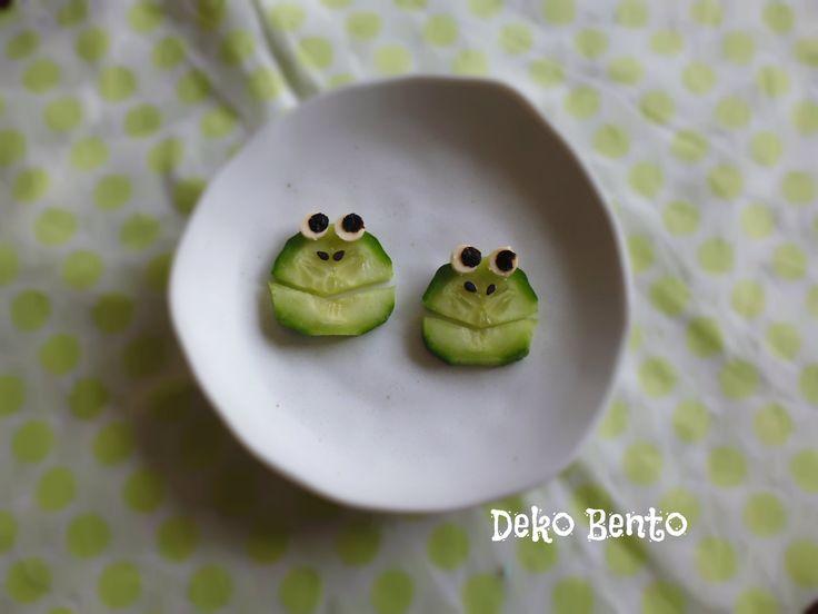 Frog cucumber - dekobento.co.nz