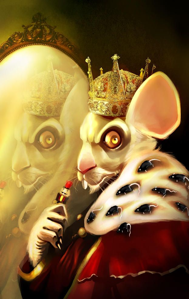 Evil Mouse King From The Nutcracker Mouse King Mouse Art
