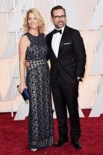 """Nancy Carell e Steve Carell, indicado ao Oscar de melhor ator por """"Foxcatcher"""""""
