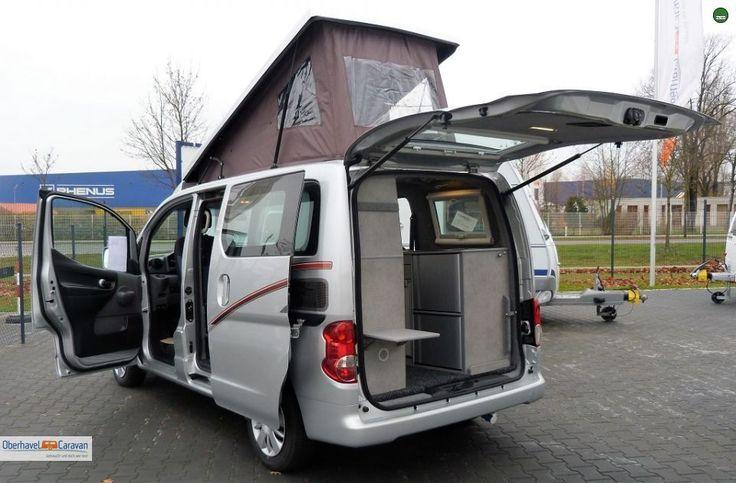 cristall camper car nissan evalia standheizung. Black Bedroom Furniture Sets. Home Design Ideas