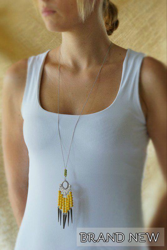 Νέο, χειροποίητο, μοναδικό! Από το Dandelions!!! http://www.cforcrafts.com/products/kosmima/kolie-perideraio/lianiki/heiropoiito-kolie-4?utm_content=buffere1388&utm_medium=social&utm_source=pinterest.com&utm_campaign=buffer #CforCrafts_jewellery #greek_jewellery