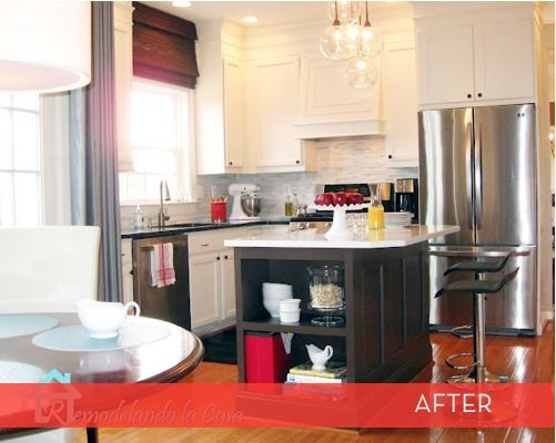 shiny little kitchen upgrade.Reshaping, Diy Kitchens, Kitchens Remodeling, Kitchen Makeovers, Range Hoods, White Cabinets, Kitchens Cabinets, Kitchens Makeovers, Painting Cabinets