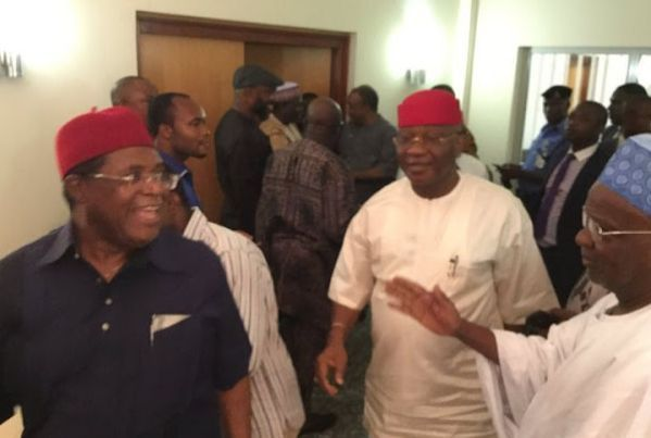 Photos From PDP National Expanded Caucus Meeting Today   Leaders of PDP are serious about getting their party back on track. More photos from the meeting...  News