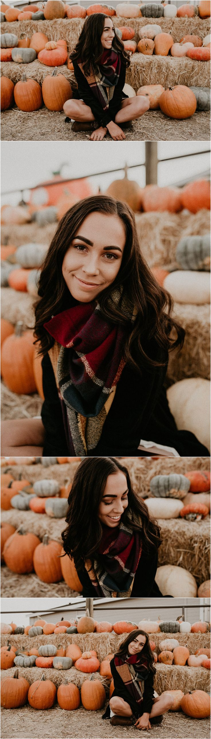 Boise Senior Photographer // Makayla Madden Photography // Idaho Farmstead // Corn Maze // Fall Senior Outfit Ideas Inspiration // Pumpkin Patch // Senior Photography // Senior Pictures // Senior Girl // Fall Aesthetic // Pumpkins //