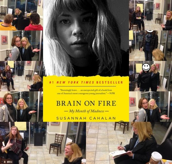 Susannah Cahalan's Brain on Fire - Every so often there comes a book that changes your life: The Bible, Harry Potter,  The Bhagavad Gita, you know, books that really impact you.  Brain on Fire is that book.