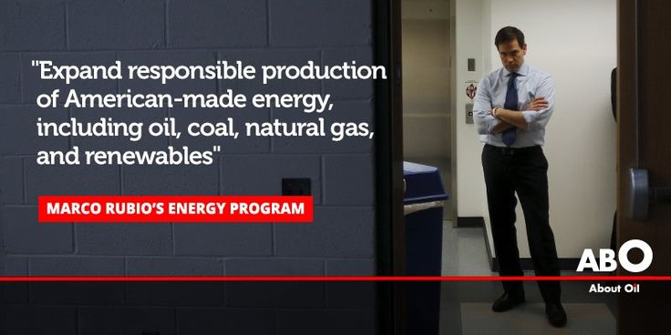 Rubio out of #USElection race. These would have been his policies on energy and environment http://bit.ly/Marco_Rubio