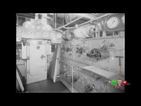 Marina Militare - Foto storiche della Corazzata ROMA - www.HTO.tv