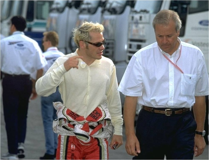 Jaques Villeneuve, Formula One racing driver and  World Champion