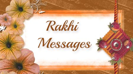List of beautiful sample Rakhi wishes messages for the brother and sister are given to choose from