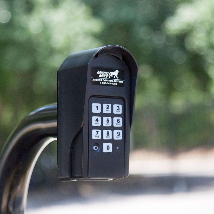 Secure your property's gated entrance with this digital keypad. Allowing up to 25 entry codes that are easy to program, this keypad is convenient for both friends and family to have their own access. Temporary codes can also be programmed to expire within one to seven days. One of The Home Depot's most-pinned products.