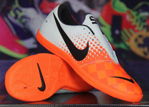 Sepatu Futsal Nike Elastico Putih Orange Rp 140.000  Pin BB : 277D5CC1 SMS : 0856 5879 0893 | call : 0821 7800 6207 http://sepatufutsalpremium.com/