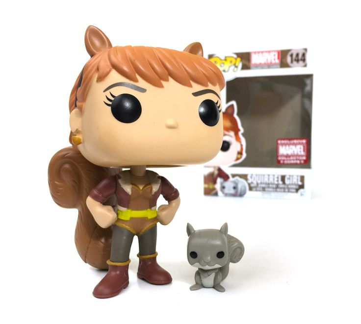 Funko Pop! Marvel Collector Corps #144 Squirrel Girl & Tippy-Toe ☆Marvel Collector Corps Exclusive☆ www.collectorcorps.com