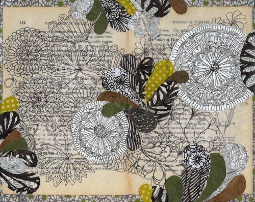 beautiful.: Inch Prints, Old Books Pages, Art Inspiration, Art Journals, Flowers Prints, Jennifer Judd, Altered Books, Ecology, Archives Prints
