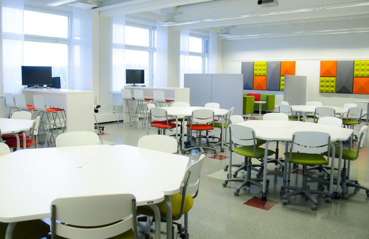Study environment at our main campus: B5-31, Kuntokatu 3. Photo: © Essi Kannelkoski