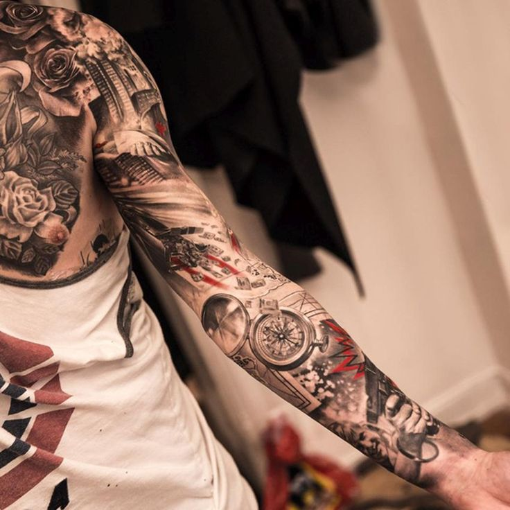 Kick Ass Tattoo Artists From Around The World: Niki Norberg's Realistic Tattoos | KickassThings