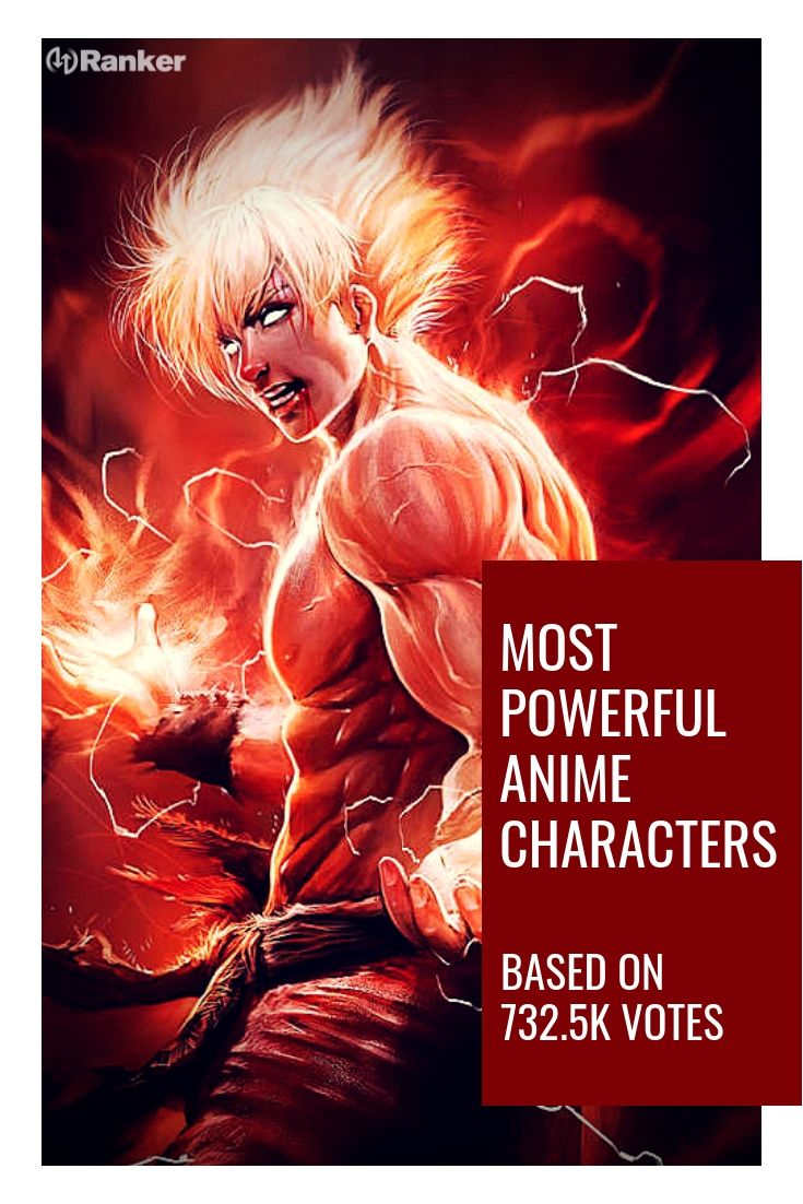 The most powerful anime characters! Here is a list of
