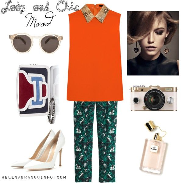 Lady and Chic Mood by helenabranquinho on Polyvore featuring moda, Gucci, J.Crew, Gianvito Rossi, Pierre Hardy, Illesteva, Givenchy, chic and lady