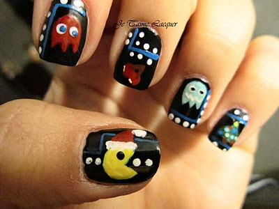 Best 25 pac man nails ideas on pinterest mens nails men nail pac man nails by technicolor nails artist alexis prinsesfo Image collections