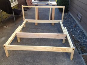 IKEA Hackers: Space Saving Pull Out Fjellse Daybed--converts from daybed to full size bed if need bigger bed