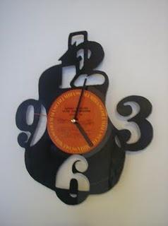 LP Guitar Clock
