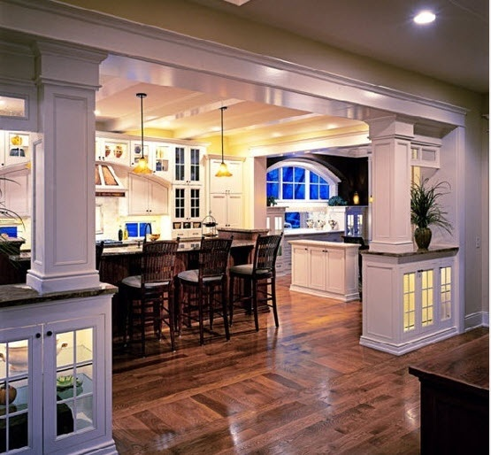 Traditional Open Concept Kitchen: 19 Best Kitchen To Keeping Room Images On Pinterest