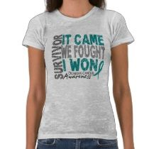 26 best images about ovarian cancer awareness on pinterest for Ovarian cancer awareness t shirts
