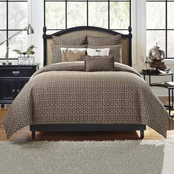 1000 ideas about masculine bedding on pinterest dark grey bedding rustic grey bedroom and - Bedroom sets for men ...