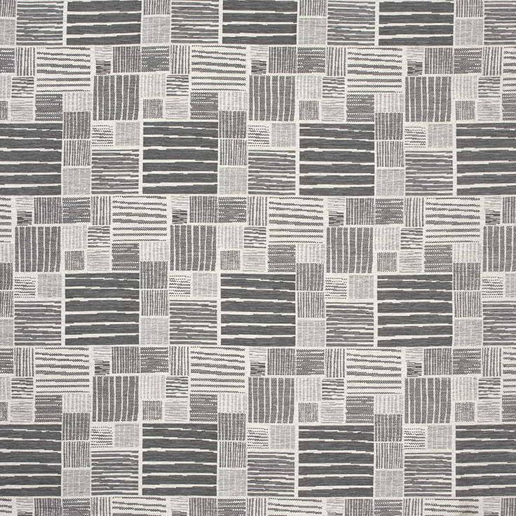 Warwick Fabrics : JANCO GRAPHITE