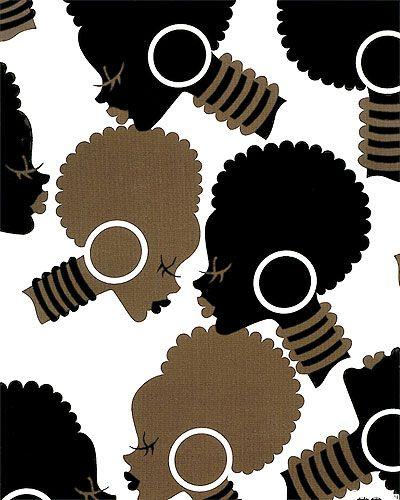 """Alexander Henry Fabric """"African Queens"""""""