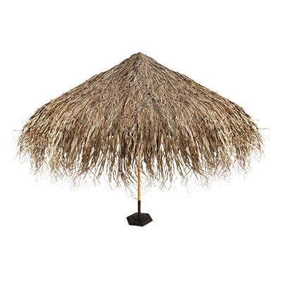 Basil Street Gallery Tropical Thatch Umbrella Cover
